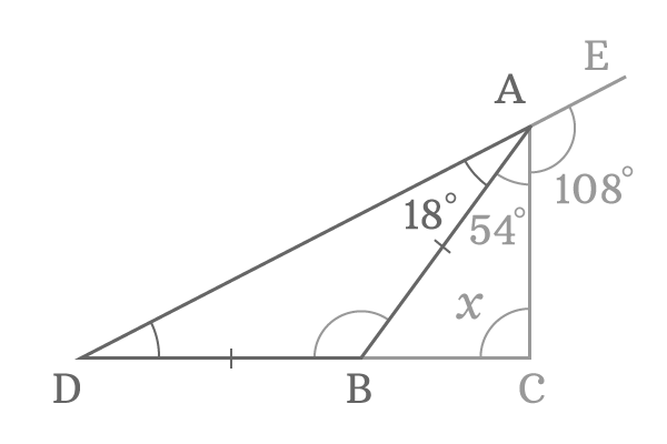 equal opposite angles in isosceles triangle