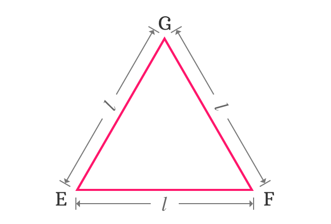 example of equilateral triangle