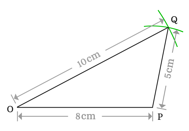 lengths of sides of scalene triangle