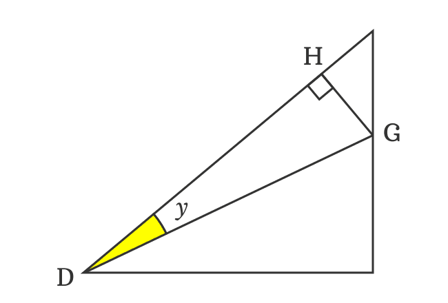 triangle for sin of angle difference identity
