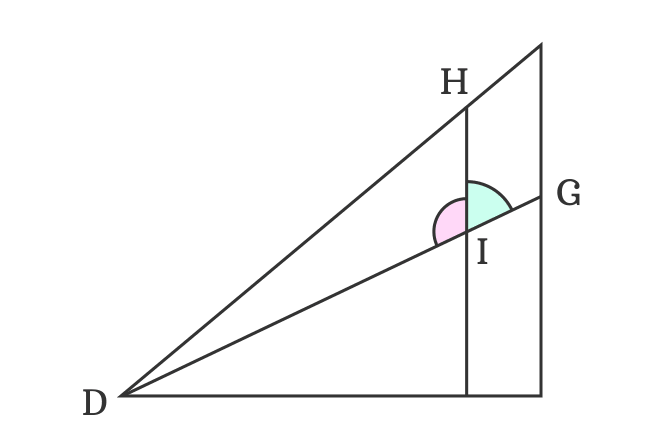 finding angle in straight angle for sin(a-b) formula