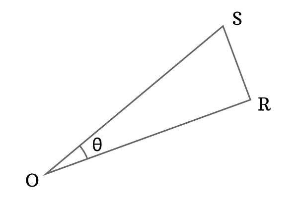 right angled triangle ros
