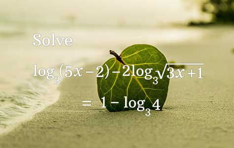 log equation problems