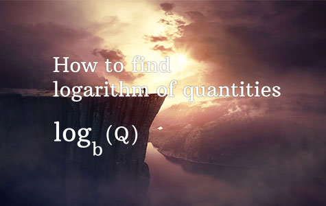logarithm examples
