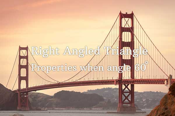 properties of right angled triangle