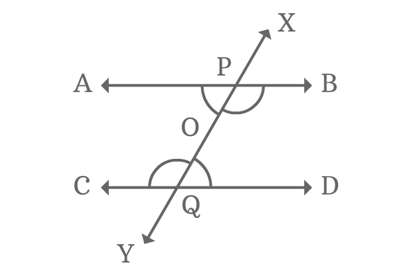 interior alternate angles of transversal of parallel lines