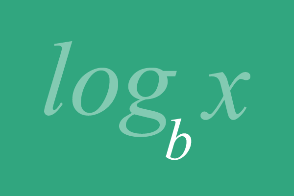base of logarithm