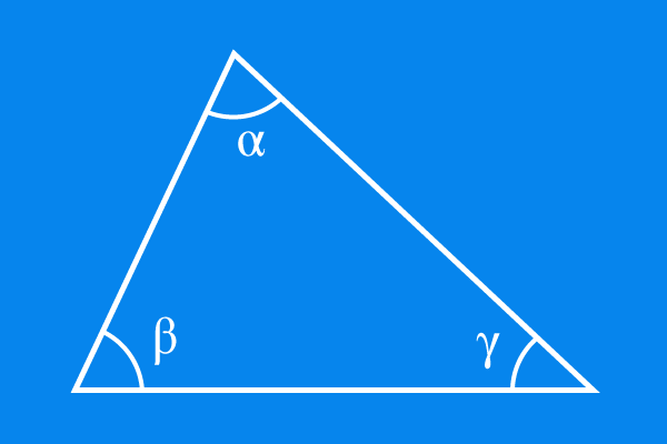 interior angles of triangle