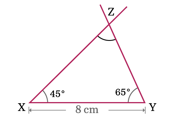 construction of acute angled triangle