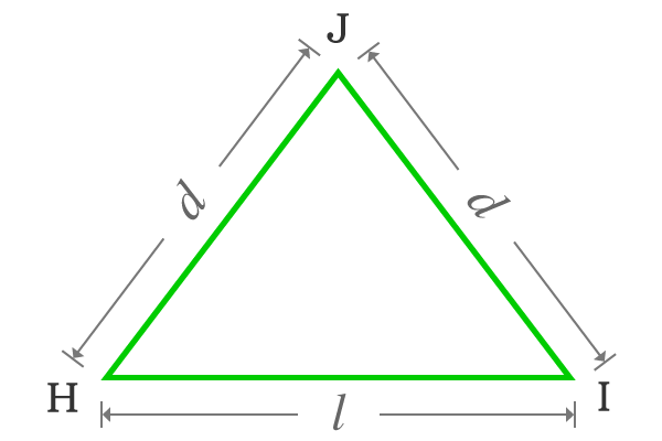 basic isosceles triangle