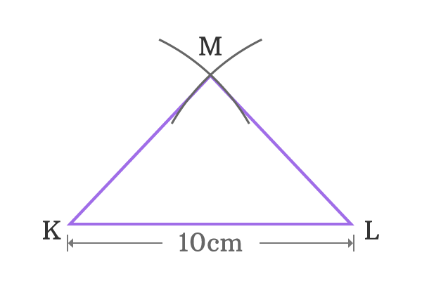 construction of isosceles triangle