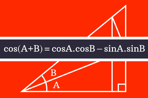 cosine of summation of two angles