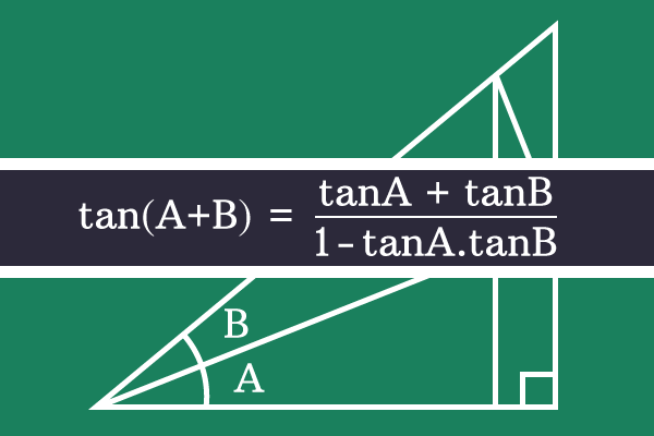 tan of sum two angles