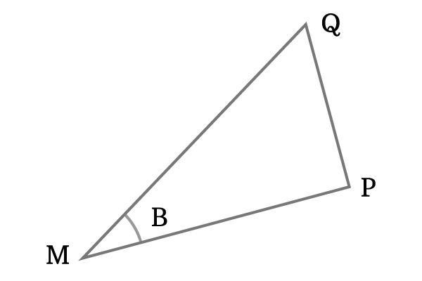 Construction of triangle to prove cosine of compound angle that formed by the addition of two angles