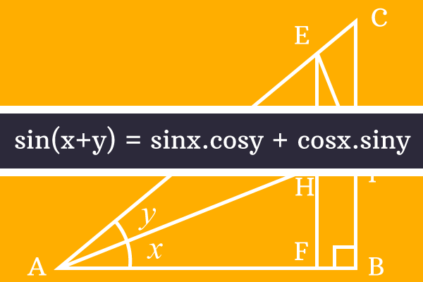sine of sum of two angles