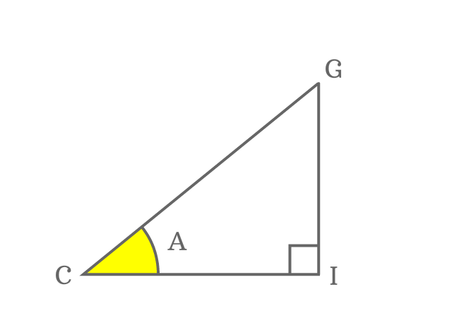 angle a right triangle for deriving sin(a-b) formula expansion
