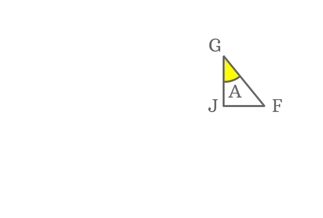congruent angle a triangle for deriving expansion of sin(a-b) formula
